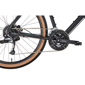 Kona Dew Plus Hybridcykel sort
